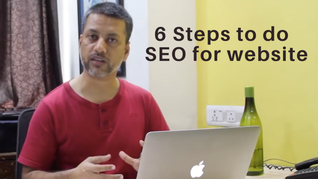 how to do seo step by step